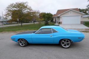 1970 dodge challenger 383 727 mopar classic fast restored muscle car