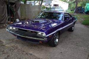 1970 Dodge Challenger RT 426 Hemi 4 Speed Dana 60 Shaker Go Wing FC 7 Plum Crazy