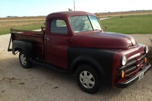 1953 Dodge Half Ton Job Rated Pickup