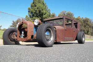 RAT ROD !!! 1927 ESSEX.  SUPER LONG AND LOW.  NOTHING LIKE IT.STEAMPUNK & LEGAL
