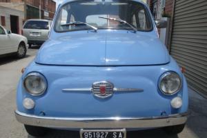 1968 Fiat 500F Blue 4speed 126 engine Mint Condition