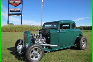 1932 Ford 5 Window Street Rod Very Nice! Photo