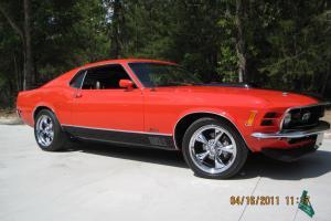 1970 Mustang Mach 1 Resto-Mod with 393 Cleveland Stroker/Roller Motor