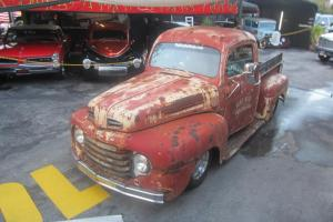 1950 FORD F1 RAT ROD OLD SCHOOL PICK UP S10 FRAME RUNS GREAT MAKE OFFER LOOK!!