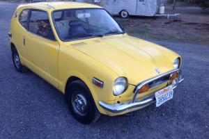 1972 Honda 600 Coupe Yellow rebuilt engine runs well good condition current reg.