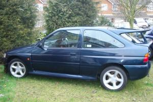 Ford Escort RS Cosworth 4x4 Lux 1995 Petrol Blue Small Turbo Classic Car Photo