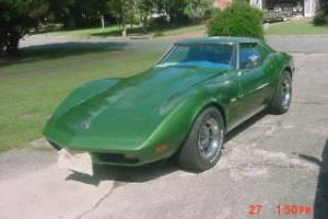 Corvette 1973 Coupe.Original Numbers Match 454 Engine,Elkhart Green,TKO 5 Speed