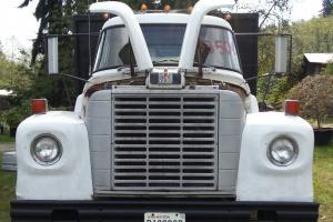 Running 1968 International Dump Truck  Nice working commercial gas