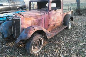 1934 International 1/2 ton pickup Rat Rod Project Photo