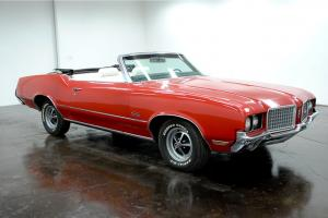 1972 Oldsmobile Cutlass Supreme Convertible 350 V8 Automatic PS Console LOOK