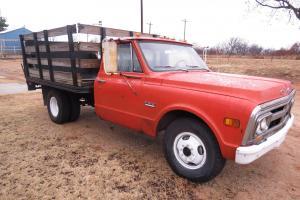 70 GMC 1 Ton Flat Bed Pick Up