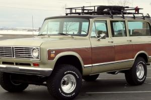 1973 International Travelall 1110, 4x4, Woody,Automatic 392 V8, A/C, Loaded. 89K