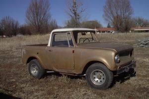 1966 International Scout Half Cab 4X4