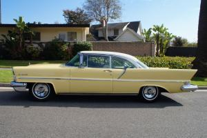 1957 GORGEOUS ORIG BLACK PLATE CALIFORNIA CAR WITH MOSTLY ALL ORIGINAL INTERIOR!