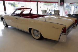 1962 Lincoln Continental Convertible Restored