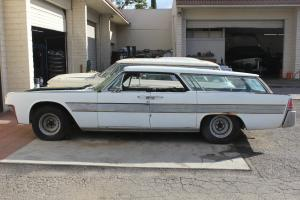 Two 1962 Lincoln Continentals