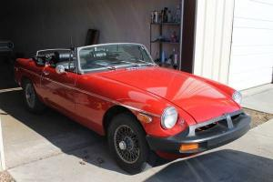 1975 MGB Roadster Great Driver Newer Paint/Interior NO RESERVE