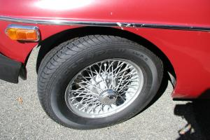 1976 MGB red great driver  wire wheels with many new parts