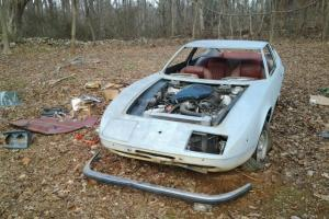 VERY EARLY MASERATI INDY GREAT RESTORATION PROJECT CAR 5 SPEED CAR