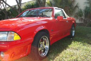 1989 ASC McLaren 5.0 Mustang Coupe Convertible