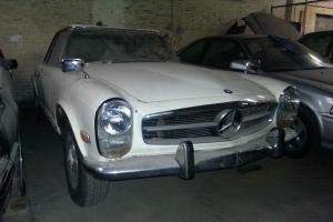 1968 Mercedes 250SL...Barn Find easy restoration