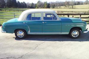 1957 Mercedes 220S 4 dr. sedan