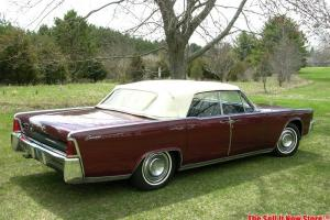 RARE Survivor 1964 64 Lincoln Continental Convertible V8 Ford Motor Company