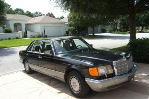 1987 Mercedes-Benz 560SEL Base Sedan 4-Door 5.6L
