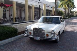 1972 280SEL 4.5ltr. WHITE WITH CREME INTERIOR, 74,000 MILES. SUPERB CAR!!!