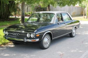 1972 Audi Auto Union 100LS C1 Mercedes design vintage  made in Germany 4cyl auto