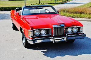 Frame off every nut 73 Mercury Cougar XR7 Convertible totally pristine classic