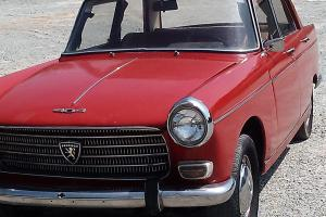 1968 404 Sedan -4 sp. on col-sunroof-4 cyl.1.4 lt. dics. brs. n.paint  r&p str
