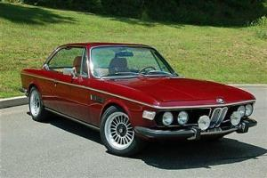 1972 BMW 3.0CS Coupe/Recently Restored/Spectacular!