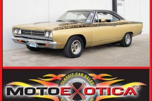 1969 PLYMOUTH ROAD RUNNER-HOLY GRAIL OF MOPARS-GREAT RESTORATION-1 FAMILY OWNED