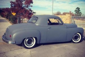 1949 Plymouth Deluxe Business Coupe  Flathead HOT RAT TRADITIONAL Rod  VIDEOS