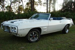 1969 Convertible Firebird Trans Am Clone