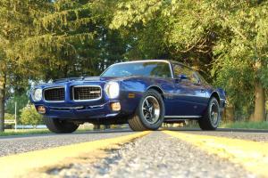 1973 Pontiac Firebird with Formula Hood and TransAm Rear spoiler
