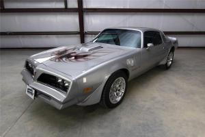 1978 Silver Trans Am 6.6 Liter Auto 30k Original Miles AC California Car No Rust
