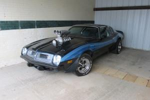 1975 Trans Am 455 supercharged Muscle car
