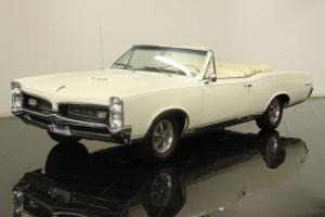 1967 Pontiac GTO HO Convertible Numbers Matching 400ci 360 HP V8 4 Speed