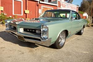 1966 Pontiac Real GTO Muscle Car Beautifully Restored Frame Off Automatic