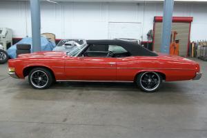 1971 Pontiac Catalina Convertible 400 Cloth Top Custom Rims & Tires Nice Car