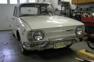 1969 Renault 4 door sedan 39,340 original miles not running