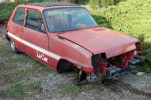 RENAULT R5 LE CAR 1978 Photo