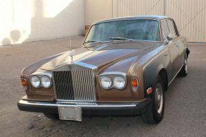 1976 Rolls Royce Silver Shadow Sedan 4-Door 6.8L V8 Left Hand Drive