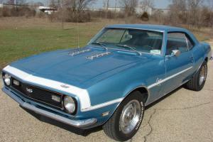 1968 Chevrolet Camaro SS Factory 4-Speed~NO RESERVE!~Super Solid~Runs A+