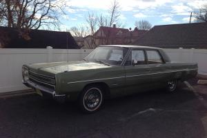 plymouth fury 4 door sedan