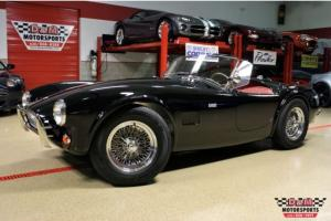 1963 SUPERFORMANCE MKII SLABSIDE BLACK OVER RED LEATHER HBR FUEL INJECTED 302 Photo