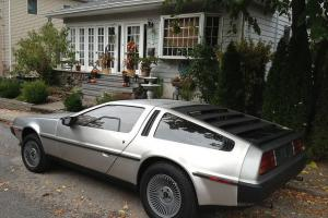 1981 DELOREAN STAINLESS STEEL TIME MACHINE MINT MUSEUM AUTO MUST SEE ORIGINAL Photo