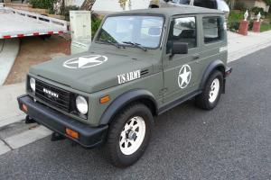1987 Suzuki Samurai JX 4x4 Tin Top with Air Conditioning